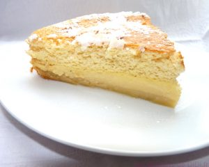 Le gâteau magique à la vanille