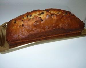 Le gâteau pépites de chocolat