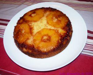 Gâteau renversé à l'ananas de DiDi